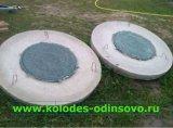 Крышки с полимерными люками для септика - Кубинка