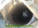 Фото - Копка шахты колодца -Селятино.